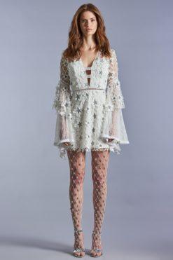 Beyaz Raisa & Vanessa Kiralık Elbise