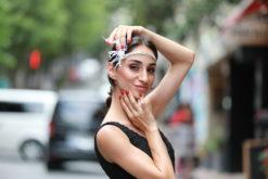 ElbiseKirala Tüy Detaylı Satılık Saç Aksesuarı