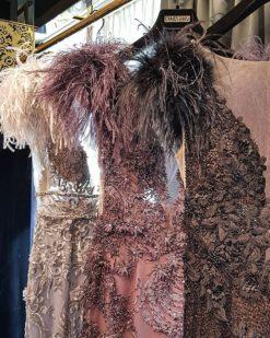 Alfabeta Mor Kiralık Elbise