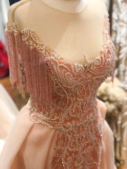 SM Pudra Rengi Kiralık Elbise