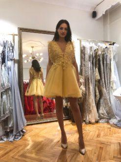 Özel Tasarım Mini Kiralık Elbise Modelleri