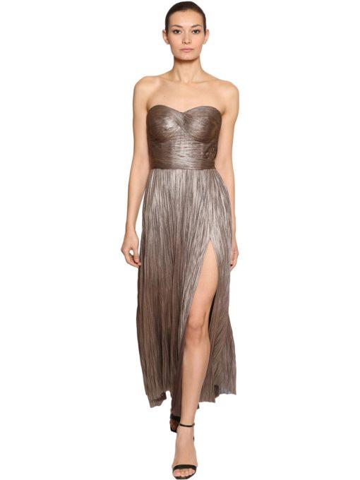 Maria Lucia Hohan bronz elbise